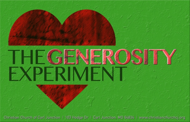 The Generosity Experiment